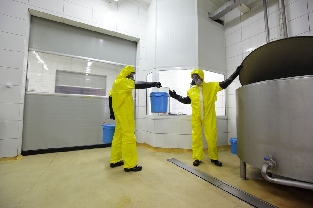 Chemical Processing Resin Floor | Top Team UK